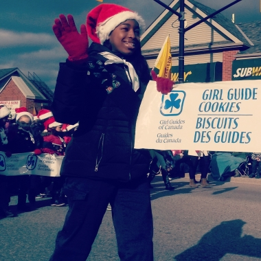 Tens of thousands of revelers lined Queen St. for the Mississauga Santa Claus Parade. Photo: Kelly Roche/QEW South Post
