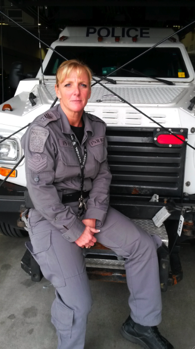 Staff Sgt Dawn Orr tactical
