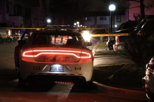 A man was shot on Fleetwood St. in Brampton on Dec. 4, 2015. (Photos: Submitted).