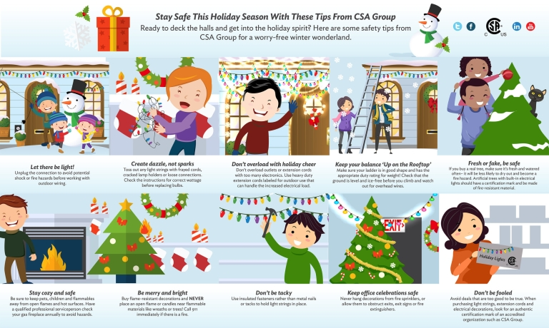 Holiday Safety Tips (CNW Group/CSA Group)