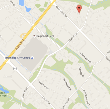 A man was shot on Fleetwood St. in Brampton on Dec. 4, 2015. (Google Maps)