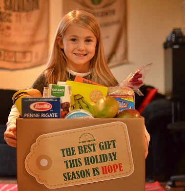 Food and cash donations will feed hungry children, families and seniors in Mississauga during the holidays.