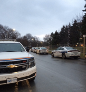 A boy was killed at 2177 Sherobee Rd. and a woman is in custody on Dec. 14, 2015. (Photo: Peel Regional Police)