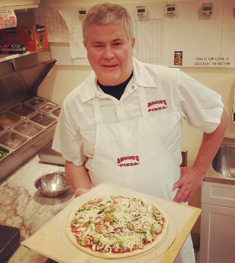 Amadio's Pizza owner Joe Leroux has been named Canadian Pizza Chef of the Year -- his first time winning the title. (Photo: Kelly Roche/QEW South Post)