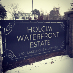 Holcim Canada, now known as CRH, was granted naming rights in 2013 in a deal with the city and wants to rename the waterfront estate after a global merger. (Photo: Kelly Roche/QEW South Post)
