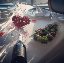 Port Credit's Breakwater Restaurant, located inside of the Waterside Inn, has been named one of Canada's 50 most romantic restaurants in a survey by OpenTable. (Photo: Kelly Roche/QEW South Post)