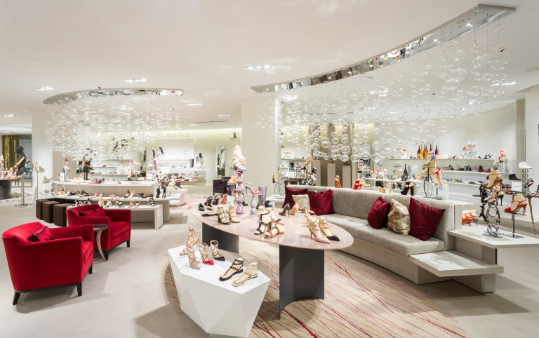 Saks Fifth Avenue''s 10022-Shoe Salon at the Toronto Eaton Centre is paradise for fashion lovers. The Sherway Gardens location opens Feb. 25, 2016. (Photo: CNW Group/Saks Fifth Avenue)
