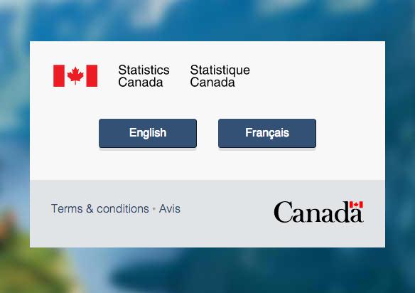 (Screenshot: Statistics Canada)