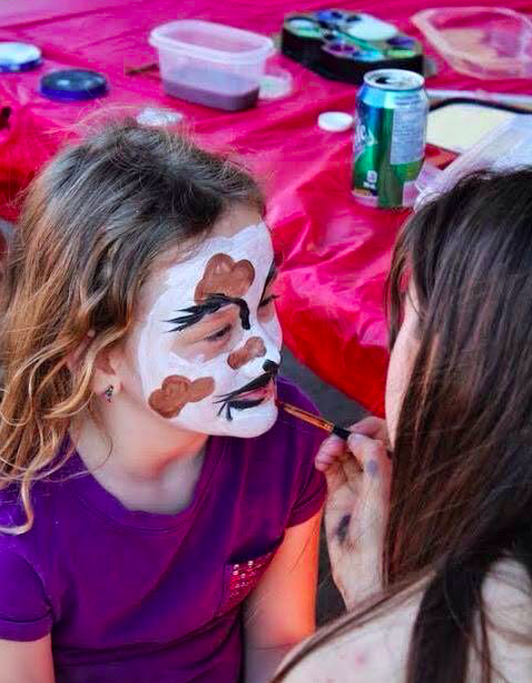 Face-painting is one of the draws at the Forest Avenue Fun Fair taking place Friday, June 3, 2016. (Photo: Forest Avenue Fun Fair Committee)