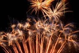 Fireworks capped off Paul Coffey Day in Malton on Friday, Sept. 23, 2016. (Photo: Matt R. DaSilva)