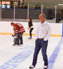 Paul Coffey once played in the Mississauga Hockey League. He was honoured in Malton on Friday, Sept. 23, 2016. (Photo: Matt R. DaSilva)