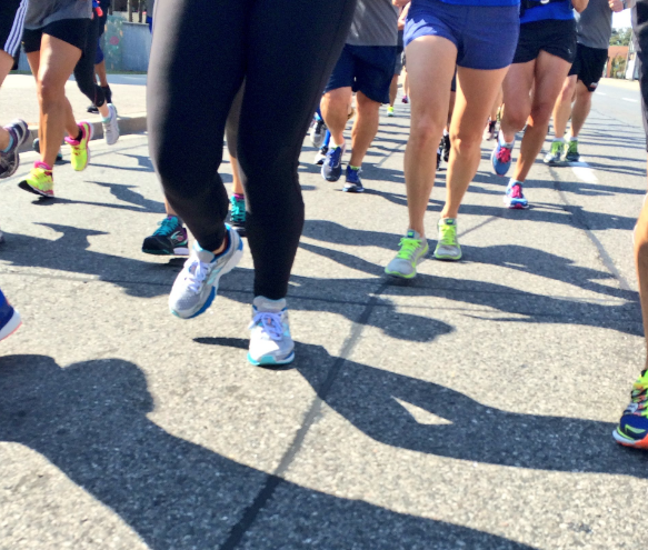 The annual Run to Remember kicked off at Queen's Park on Thursday, Sept. 22, 2016. (Photo: Twitter/@460km)