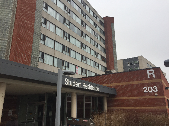 2017-01-20-humber-college-food-poisoning-dorm-exterior